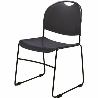 NATIONAL PUBLIC SEATING NAVY BLUE MULTI-PURPOSE ULTRA COMPACT STACK CHAIR (4-PACK)