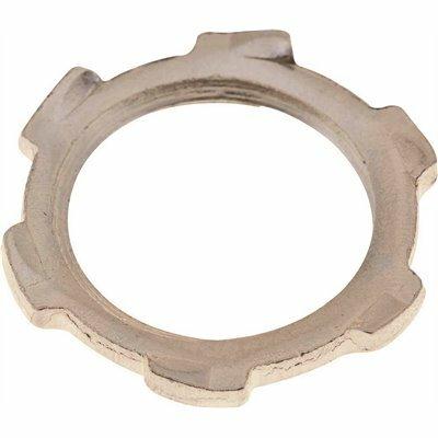 TOPAZ 1 IN. STEEL CONDUIT LOCKNUT