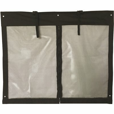 14 FT. X 8 FT. SNAP-ON GARAGE DOOR SCREEN WITH ZIPPER