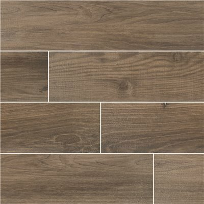 MSI AXIWOOD TAUPE 6 IN. X 36 IN. MATTE CERAMIC FLOOR AND WALL TILE (15 SQ. FT./CASE)