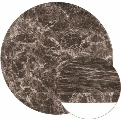 CARNEGY AVENUE GRAY MARBLE TABLE TOP