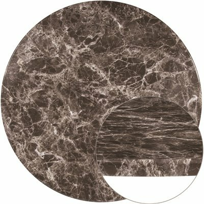 FLASH FURNITURE GRAY MARBLE TABLE TOP