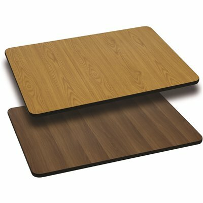 CARNEGY AVENUE NATURAL/WALNUT TABLE TOP
