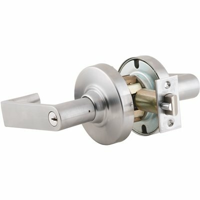 SCHLAGE ND SERIES SATIN CHROME STOREROOM FUNCTION DOOR LEVER