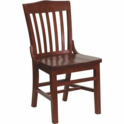 CARNEGY AVENUE MAHOGANY SIDE CHAIR