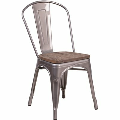 CARNEGY AVENUE CLEAR COATED SIDE CHAIR