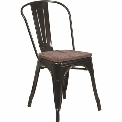 CARNEGY AVENUE BLACK SIDE CHAIR