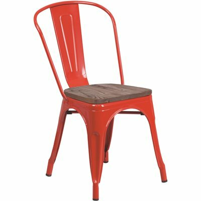 CARNEGY AVENUE RED SIDE CHAIR