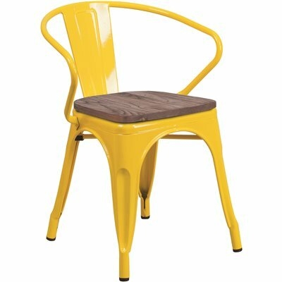 CARNEGY AVENUE YELLOW SIDE CHAIR