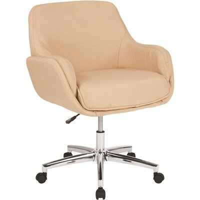 CARNEGY AVENUE BEIGE FABRIC OFFICE/DESK CHAIR