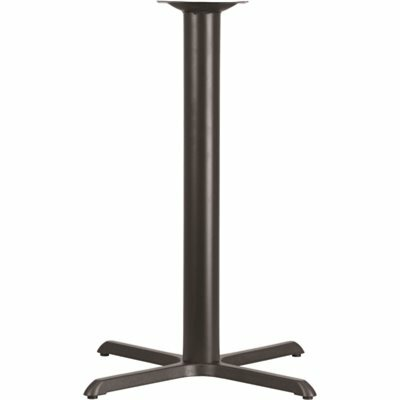 CARNEGY AVENUE BLACK TABLE BASE ONLY
