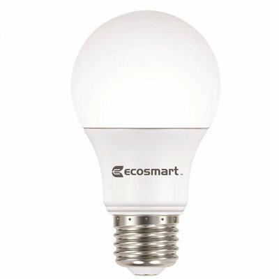 ECOSMART 60-WATT EQUIVALENT A19 NON-DIMMABLE LED LIGHT BULB SOFT WHITE (24-PACK)