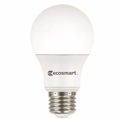 ECOSMART 60-WATT EQUIVALENT A19 DIMMABLE LED LIGHT BULB DAYLIGHT (8-PACK)