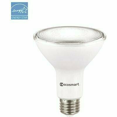 ECOSMART 75-WATT EQUIVALENT PAR30 DIMMABLE LED LIGHT BULB BRIGHT WHITE (6-PACK)