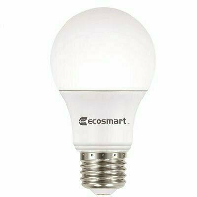 ECOSMART 40-WATT EQUIVALENT A19 NON-DIMMABLE LED LIGHT BULB DAYLIGHT (8-PACK)