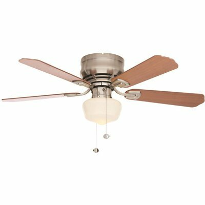Middleton 42 In Indoor Ceiling Fan With Led Schoolhouse Lig