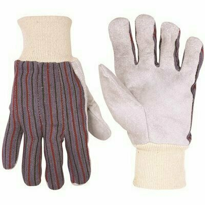 CLC ECONOMY LARGE LEATHER PALM WORK GLOVE