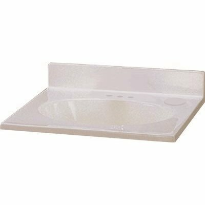 PREMIER 25 IN. X 19 IN. CUSTOM VANITY TOP SINK IN WHITE SWIRL