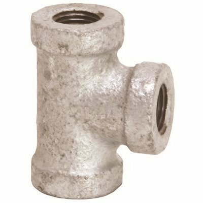 PROPLUS 150 PSI 1 IN. GALVANIZED TEE, LEAD FREE