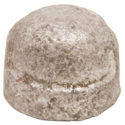 PROPLUS 3/8 IN. GALVANIZED MALLEABLE CAP