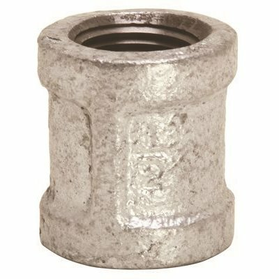 PROPLUS 1/2 IN. LEAD FREE GALVANIZED MALLEABLE FITTING COUPLING