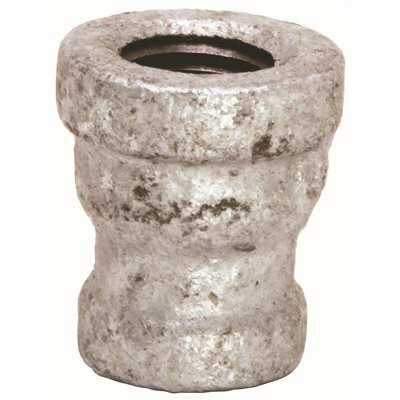 PROPLUS 1-1/2 IN. X 1 IN. GALVANIZED MALLEABLE COUPLING - PROPLUS PART #: 44225