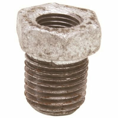 PROPLUS 1 IN. X 3/4 IN. LEAD FREE GALVANIZED MALLEABLE BUSHING