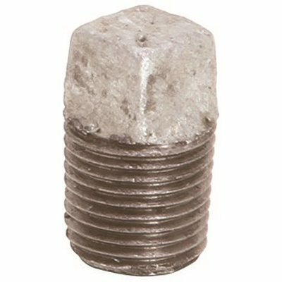 PROPLUS 1/2 IN. LEAD FREE GALVANIZED MALLEABLE PLUG - PROPLUS PART #: 44278