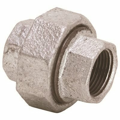 PROPLUS 1/2 IN. LEAD FREE GALVANIZED MALLEABLE FITTING UNION