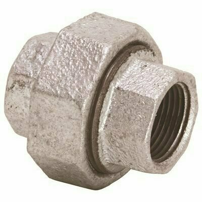 PROPLUS 1 IN. LEAD FREE GALVANIZED MALLEABLE FITTING UNION