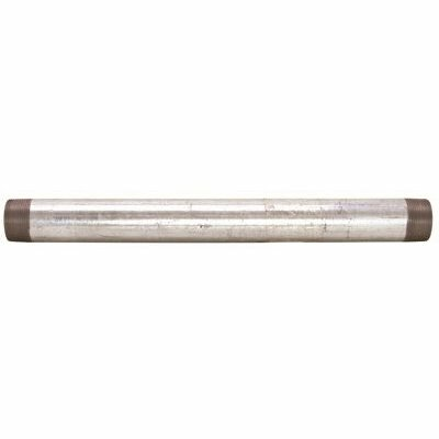 B & K LLC 1 IN. X 30 IN. GALVANIZED CUT PIPE