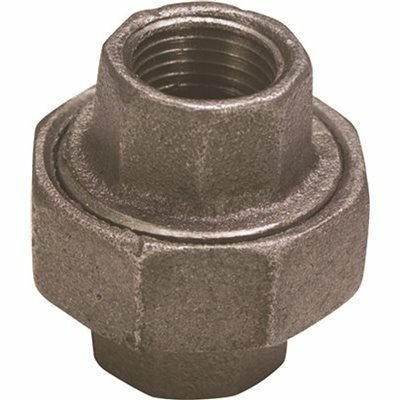 PROPLUS 3/8 IN. BLACK MALLEABLE UNION - PROPLUS PART #: 45125