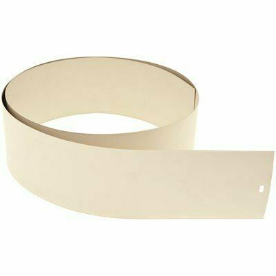 DESIGNER'S TOUCH ALABASTER LOUVER SET FOR 3-1/2 IN. VERTICAL BLINDS - 82.5 IN. L