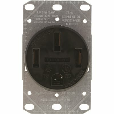 HUBBELL WIRING GIDDS-606503 RR201WWRTR Electrical Receptacle Outlet White Bryant Electric 606503-BW