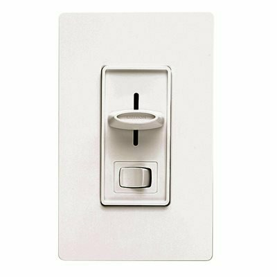 LUTRON ELECTRONICS LUTRON SKYLARK 1P QUIET 3 SPEED FAN CONTROL/SW WHITE