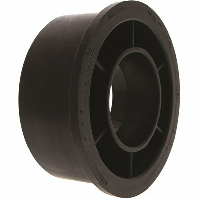 NIBCO 4 IN. X 2 IN. ABS DWV SPIG. X HUB FLUSH BUSHING