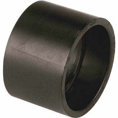NIBCO 3 IN. ABS DWV HUB X HUB COUPLING FITTING
