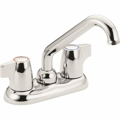MOEN CHATEAU 4 IN. CENTERSET 2-HANDLE UTILITY FAUCET IN CHROME