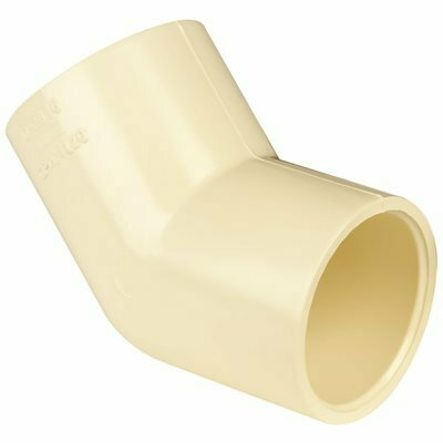 GENOVA PRODUCTS 1 IN. CPVC 45-DEGREE ELBOW