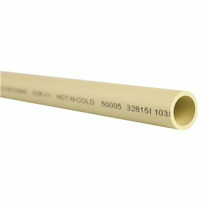 GENOVA PRODUCTS 1/2 IN. X 10 FT. CPVC PIPE