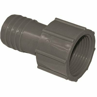 1 IN. POLYETHYLENE INSERT X FPT FEMALE ADAPTER DISCONTINUED