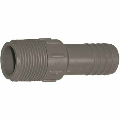 POLYETHYLENE INSERT FITT 3/4 IN. PVC INSERT X MPT MALE ADAPTER DISCONTINUED