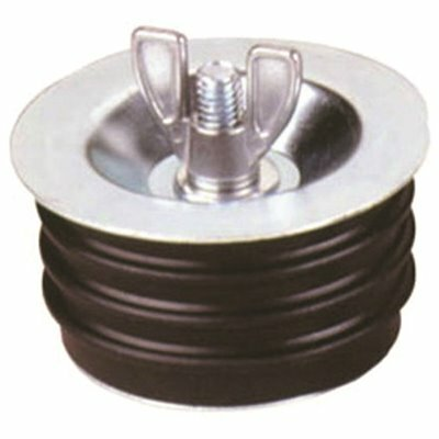 PROPLUS 3 IN. OUTER DIAMETER RUBBER DOLLAR PLUG ECON-O-GRIP