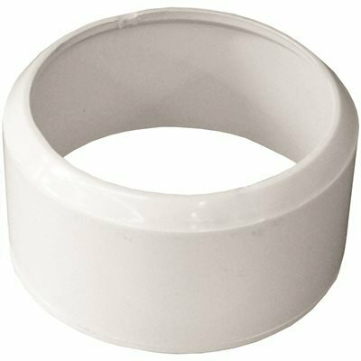 GENOVA PRODUCTS 3 IN. X 3 IN. PVC SEWER ADAPTER BUSHING (PVC-DWV SPIGOT X SEWER HUB)
