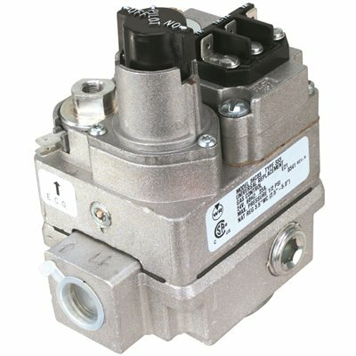 EMERSON GAS CONTROL VALVE, SIDE OUTLET, 24-VOLT