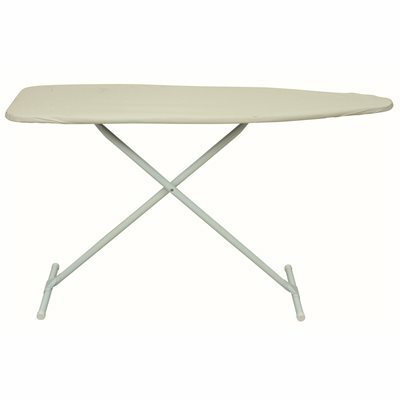 HOMZ EASYBOARD IRONING BOARD WITH PAD AND COVER IN KHAKI