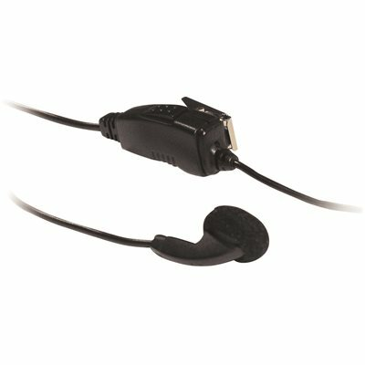 KENWOOD CLIP MICROPHONE HEADSET WITH EARBUD FOR TK RADIOS