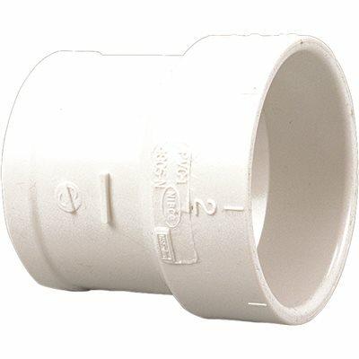 NIBCO 4 IN. PVC DWV SOIL PIPE ADAPTER