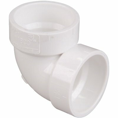 NIBCO 2 IN. PVC DWV 90-DEGREE H X H VENT ELBOW