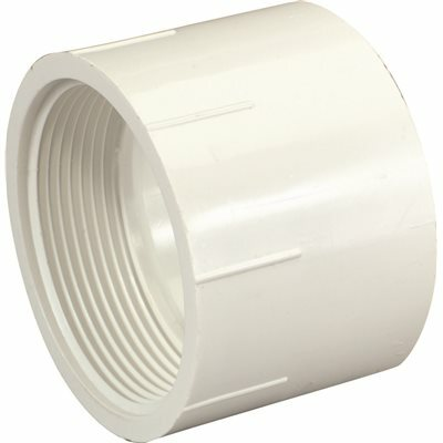 NIBCO 1-1/2 IN. PVC DWV HUB X FIPT FEMALE ADAPTER